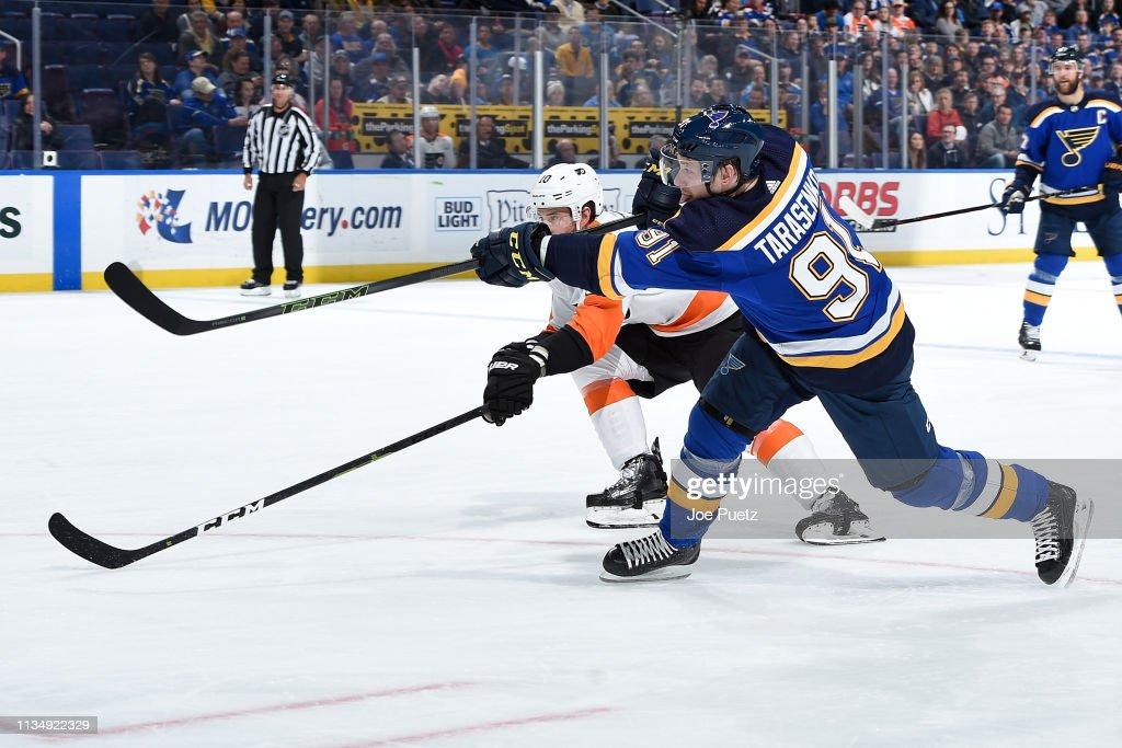 Philadelphia Flyers v St Louis Blues : News Photo