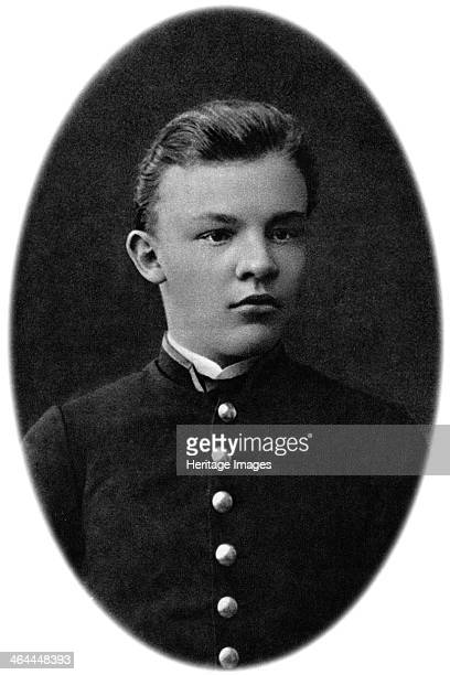 Vladimir Ulyanov as grammar school pupil, Simbirsk, Russia, 1887. Lenin became leader of the Bolshevik faction of the Russian Social Democratic and...