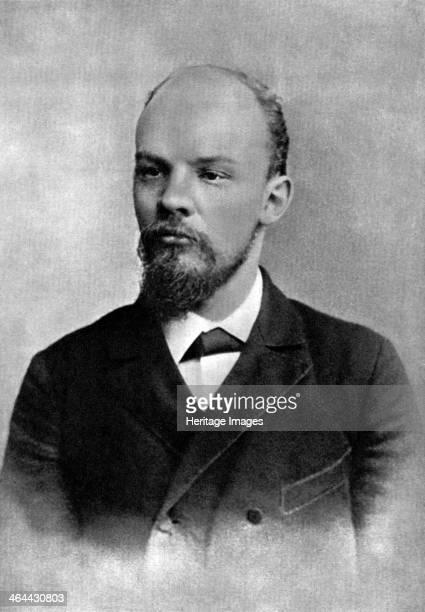 Vladimir Ulyanov Russian Bolshevik revolutionary St Petersburg Russia February 1897 Lenin became leader of the Bolshevik faction of the Russian...