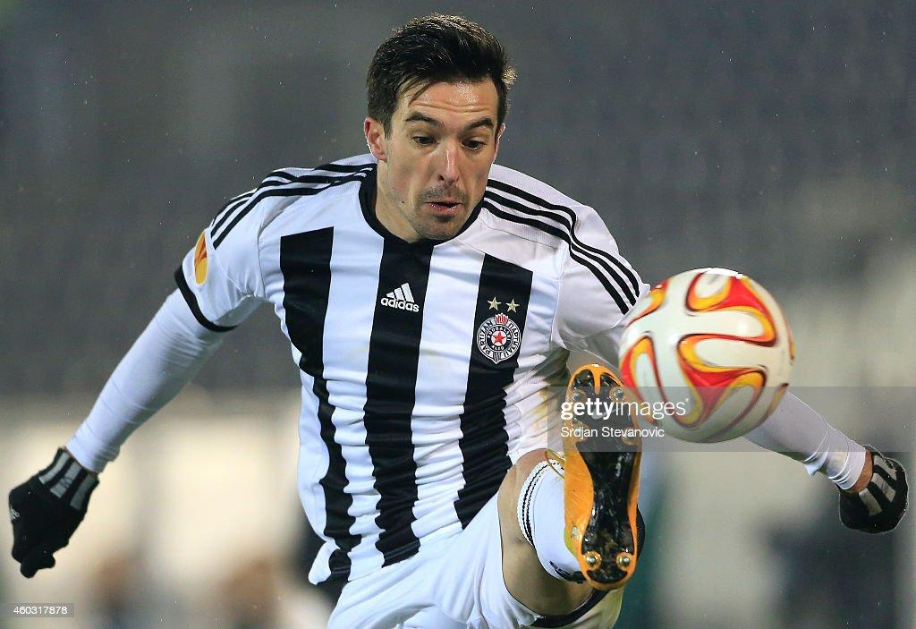 FK Partizan v Asteras Tripolis FC - UEFA Europa League : News Photo