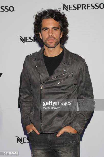 Vladio Chiappetta attends the Nespresso Vertuo launch on September 26 2018 at Piacere in Mexico City Mexico