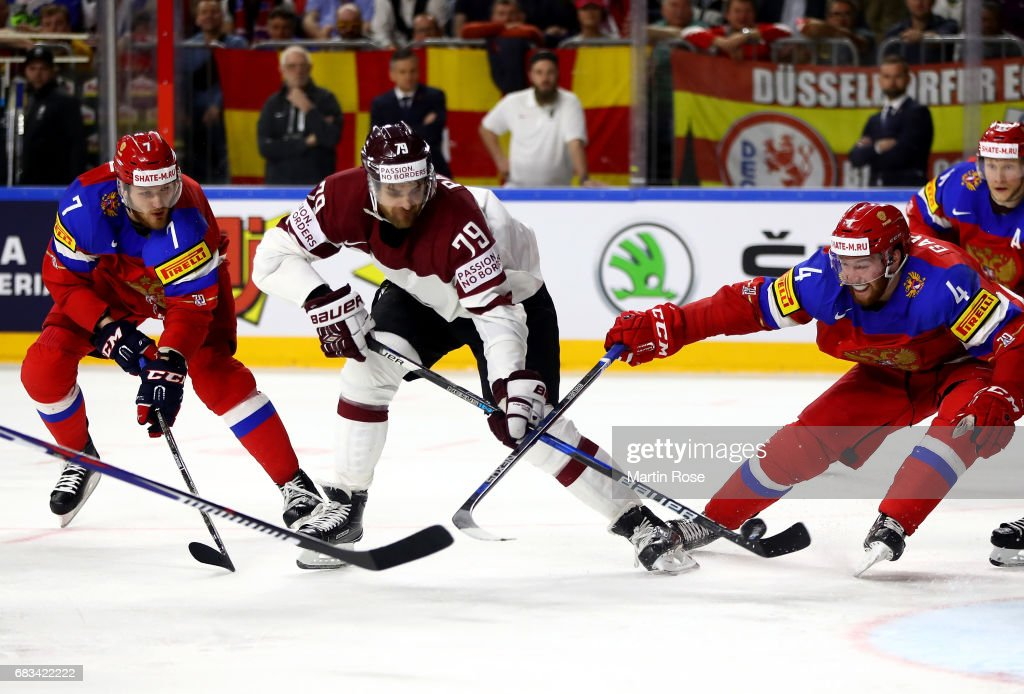 Russia v Latvia - 2017 IIHF Ice Hockey World Championship