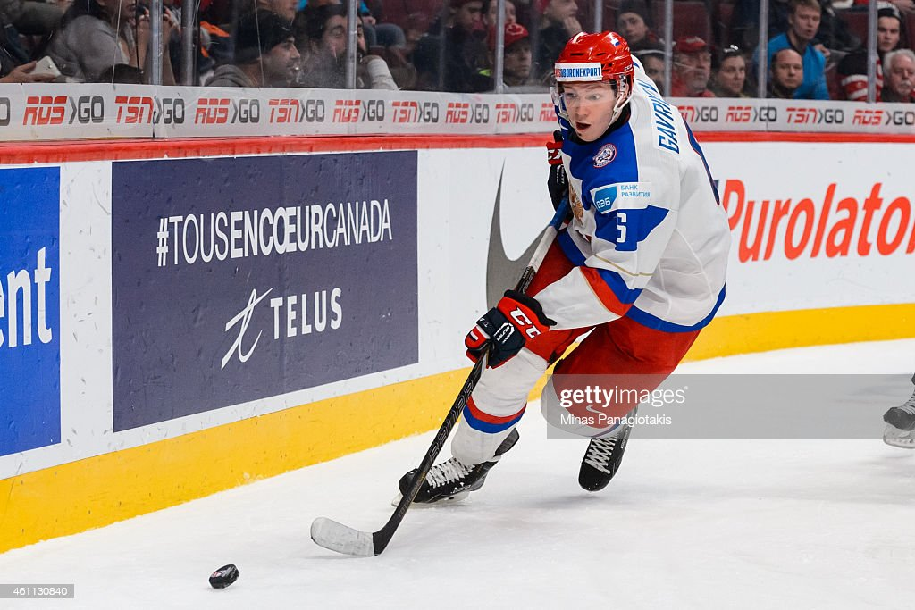 2015 IIHF World Junior Championship - Quarterfinal - United States v Russia : News Photo