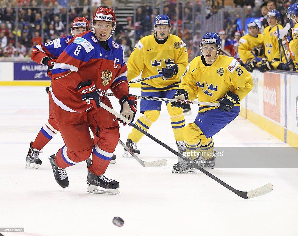 Russia v Sweden - 2015 IIHF World Junior Championship