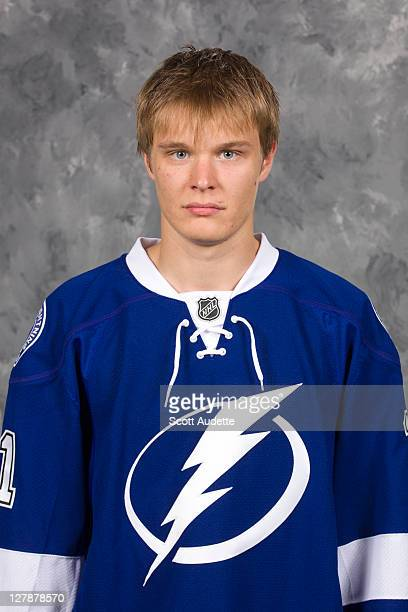 Vladislav Namestnikov of the Tampa Bay Lightning poses for his official headshot for the 20112012 season on July 12 2011 in Tampa Florida