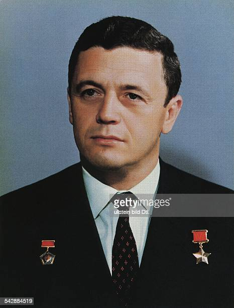 Vladislav Nikolayevich Volkov * Soviet cosmonaut USSR portrait date unknown photo by Alexander Mokletsov