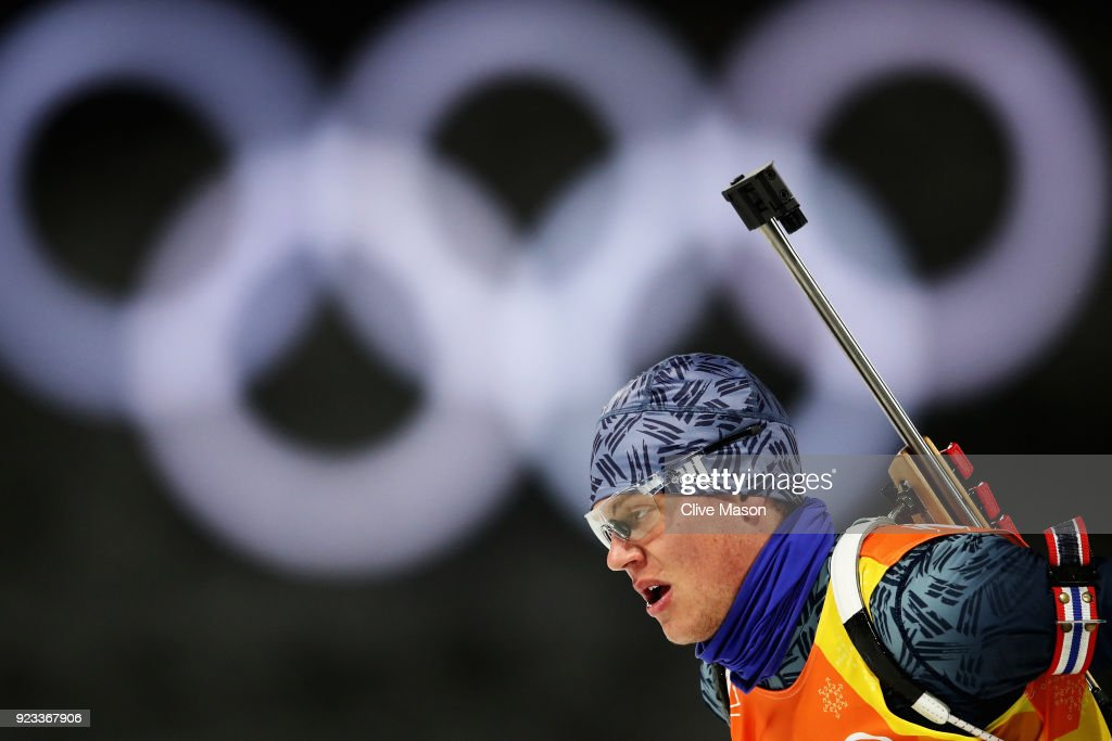 Biathlon - Winter Olympics Day 14 : News Photo