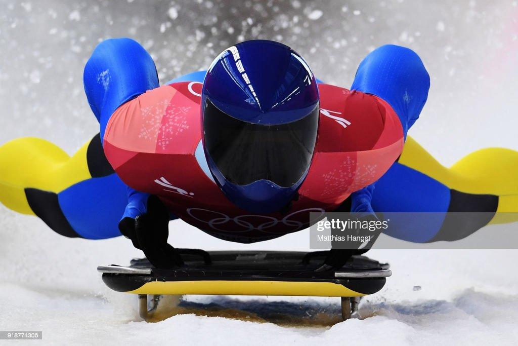 Skeleton - Winter Olympics Day 7 : Nachrichtenfoto