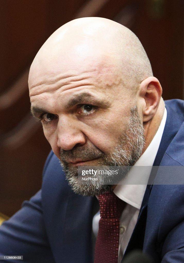 UKR: Vladyslav Manger Attends The Court Hearing In Kiev
