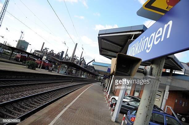 Völklingen Bahnhof Bahnsteig