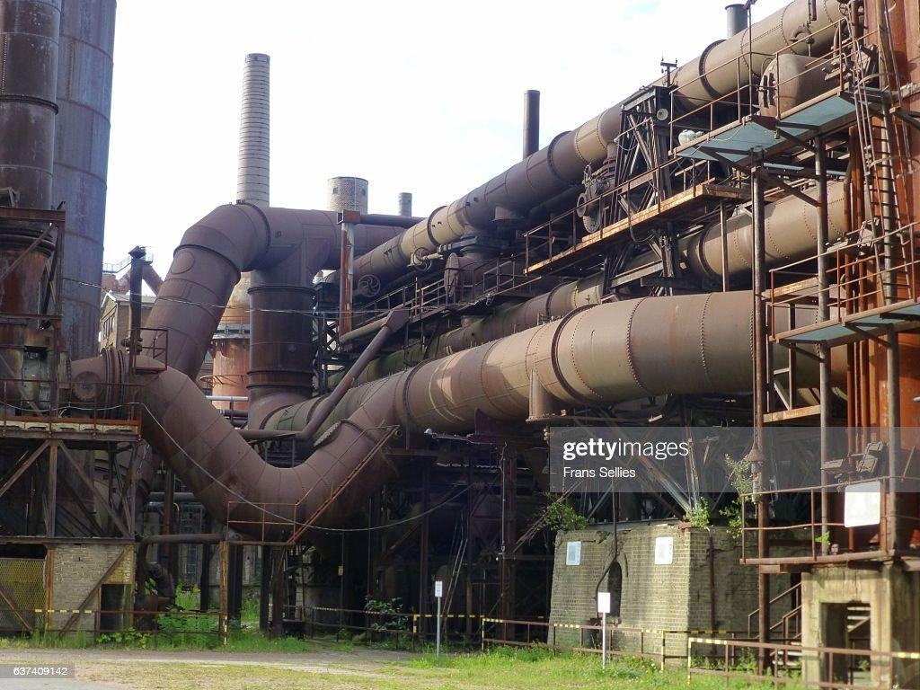 Völklinger Hütte (Völklingen Ironworks), Germany : Stockfoto