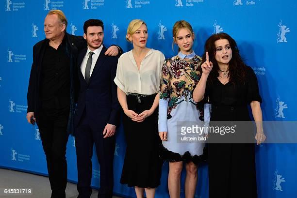 Der Regisseur Kenneth Branagh der Schauspieler Richard Madden die Schauspielerin Cate Blanchett die Schauspielerin Lily James und die Schauspielerin...