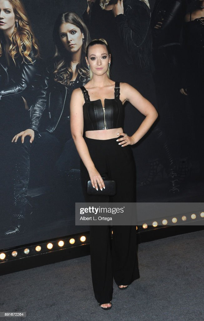 "Premiere Of Universal Pictures' ""Pitch Perfect 3"" - Arrivals : News Photo"