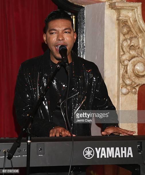 Vocal Coach Stevie Mackey performs at Singer Jena Rose's Birthday Celebration At Bardot on January 12 2017 in Hollywood California