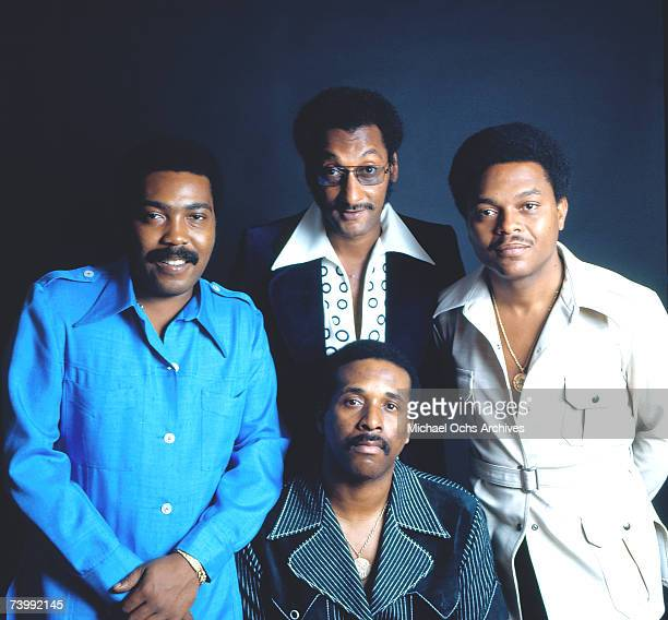 B vocal group The Four Tops pose for a portait in 1975 Clockwise from left Lawrence Payton Abdul Duke Fakir Ronaldo Obie Benson Levi Stubbs