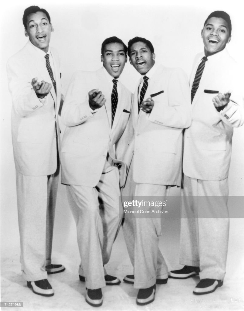 Four Tops Portrait : News Photo
