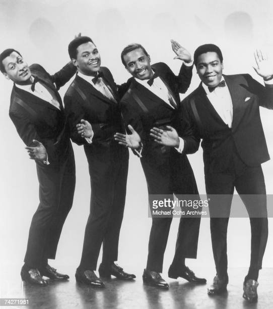 B vocal group 'The Four Tops' pose for a portrait in circa 1965 in New York City New York Abdul Duke Fakir Renaldo Obie Benson Levi Stubbs Lawrence...