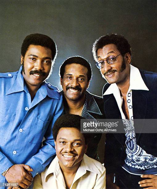 B vocal group The Four Tops pose for a portrait in circa 1975 Clockwise from left Lawrence Payton Levi Stubbs Abdul Duke Fakir Ronaldo Obie Benson