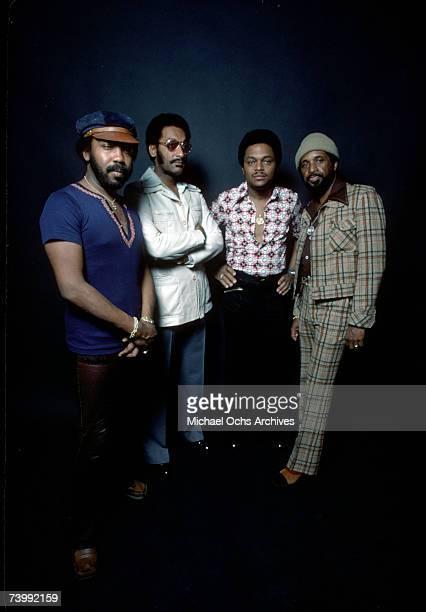 B vocal group The Four Tops pose for a portrait in February 1975 Lawrence Payton Abdul Duke Fakir Ronaldo Obie Benson Levi Stubbs