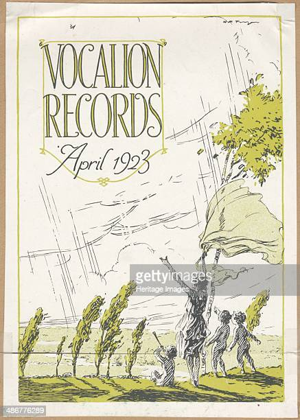 Vocalion Records Bulletin 1923