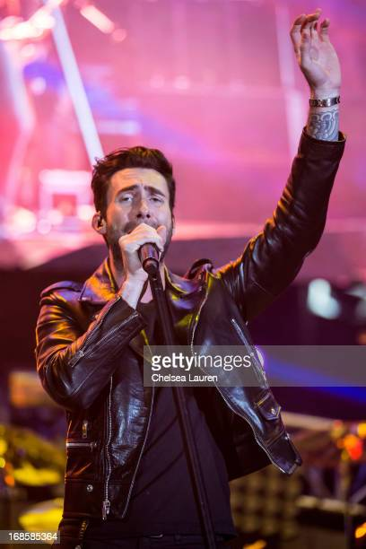 Vocalist Adam Levine of Maroon 5 performs at 102.7 KIIS FM's Wango Tango 2013 at The Home Depot Center on May 11, 2013 in Carson, California.