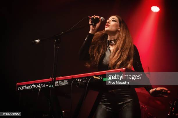 Vocalist Alia OBrien of Canadian rock group Blood Ceremony performing live on stage at Electric Brixton in London England on January 26 2019