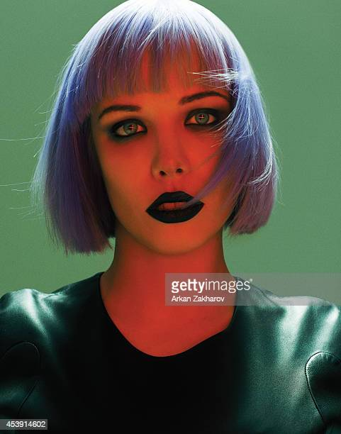 Vocalist and cowriter for the band Crystal Castles Alice Glass for Pulp Magazine on December 1 2012 in Toronto Ontario PUBLISHED IMAGE