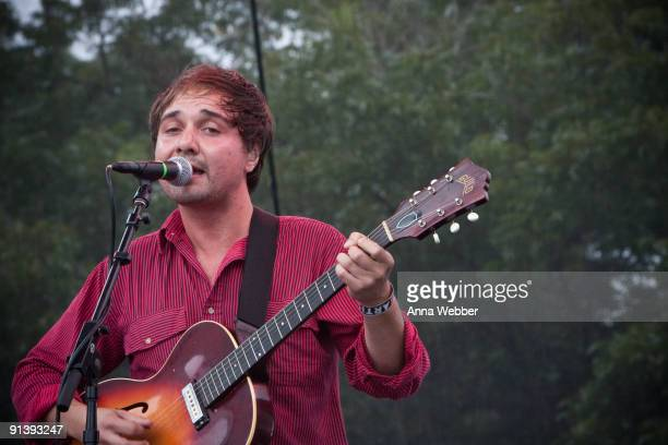 Vocalist and Guitarist Daniel Rossen of Grizzly Bear performs on day 2 of the Austin City Limits Music Festival at Zilker Park on October 3, 2009 in...