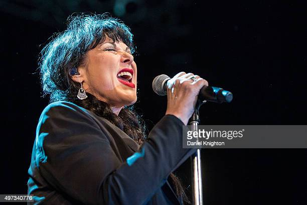 Vocalist Ann Wilson of Heart performs on stage at Harrah's Resort Southern California on November 15, 2015 in Valley Center, California.