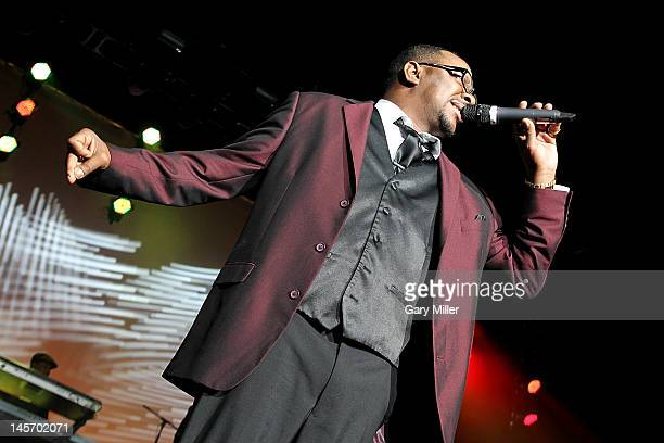 Vocalist Bobby Brown performs in concert with New Edition at the ATT Center on June 3 2012 in San Antonio Texas