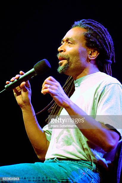 Vocalist Bobby McFerrin performs on July 14th 2001 at the North Sea Jazz Festival in the Hague Netherlands