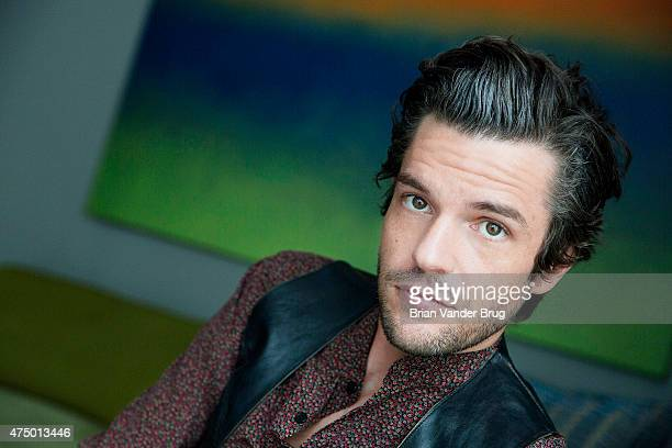 Vocalist Brandon Flowers is photographed for Los Angeles Times on May 8 2015 in West Hollywood California PUBLISHED IMAGE CREDIT MUST READ Brian...