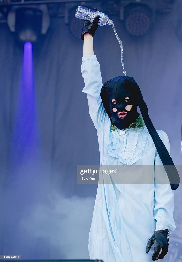 Vocalist Edith Frances of Crystal Castles performs onstage during weekend one, day one of Austin City Limits Music Festival at Zilker Park on October 6, 2017 in Austin, Texas.