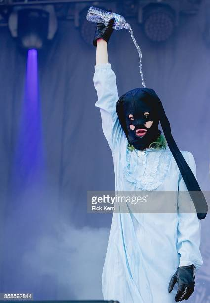 Vocalist Edith Frances of Crystal Castles performs onstage during weekend one, day one of Austin City Limits Music Festival at Zilker Park on October...