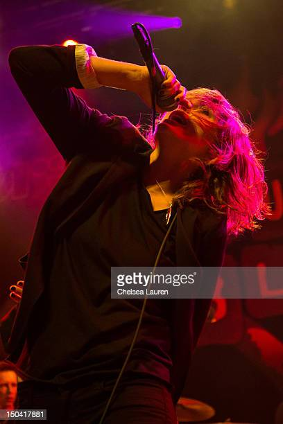 Vocalist Emily Armstrong of Dead Sara performs at the 5th Annual Sunset Strip Music Festival launch with a celebration of The Doors at House of Blues...