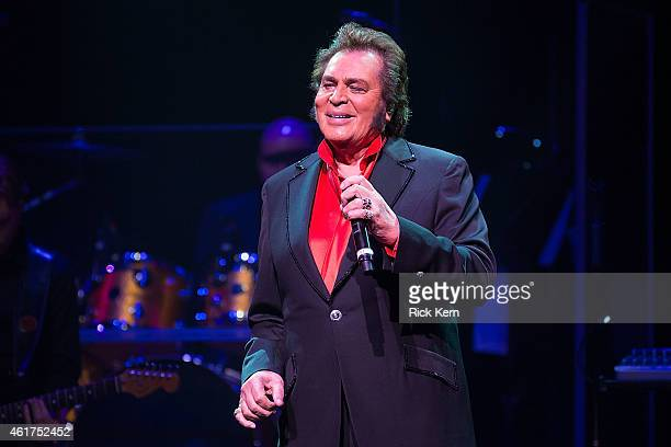 Vocalist Engelbert Humperdinck performs in concert at ACL Live on January 18 2015 in Austin Texas