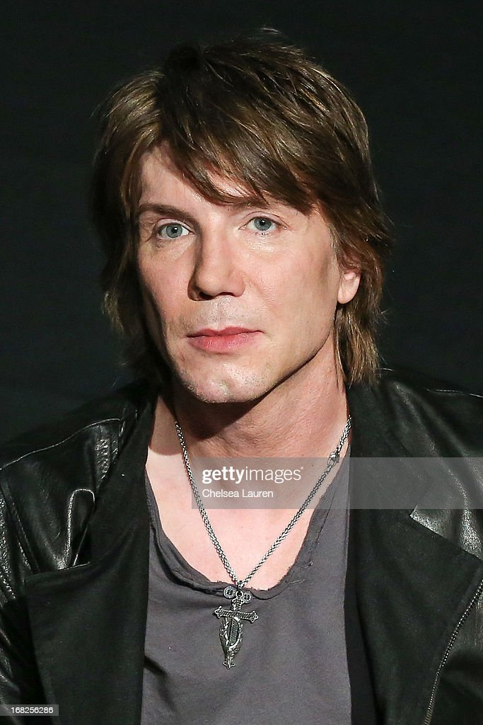 Vocalist / guitarist John Rzeznik of Goo Goo Dolls is inducted into Guitar Center's historic RockWalk at Guitar Center on May 7, 2013 in Hollywood, California.