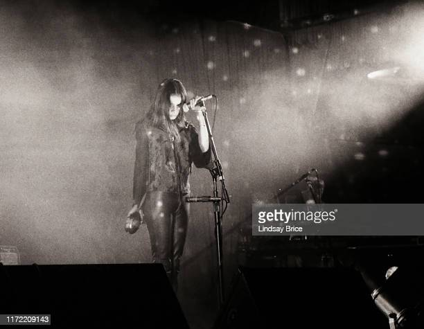 Vocalist Hope Sandoval performs in Mazzy Star at the Hollywood Palladium on November 26 1994 in Los Angeles