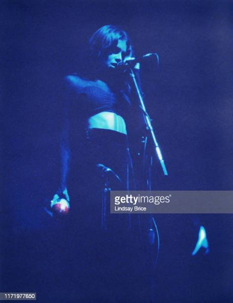 Vocalist Hope Sandoval performs in Mazzy Star at the Palace in Hollywood on April 9 1994 in Los Angeles
