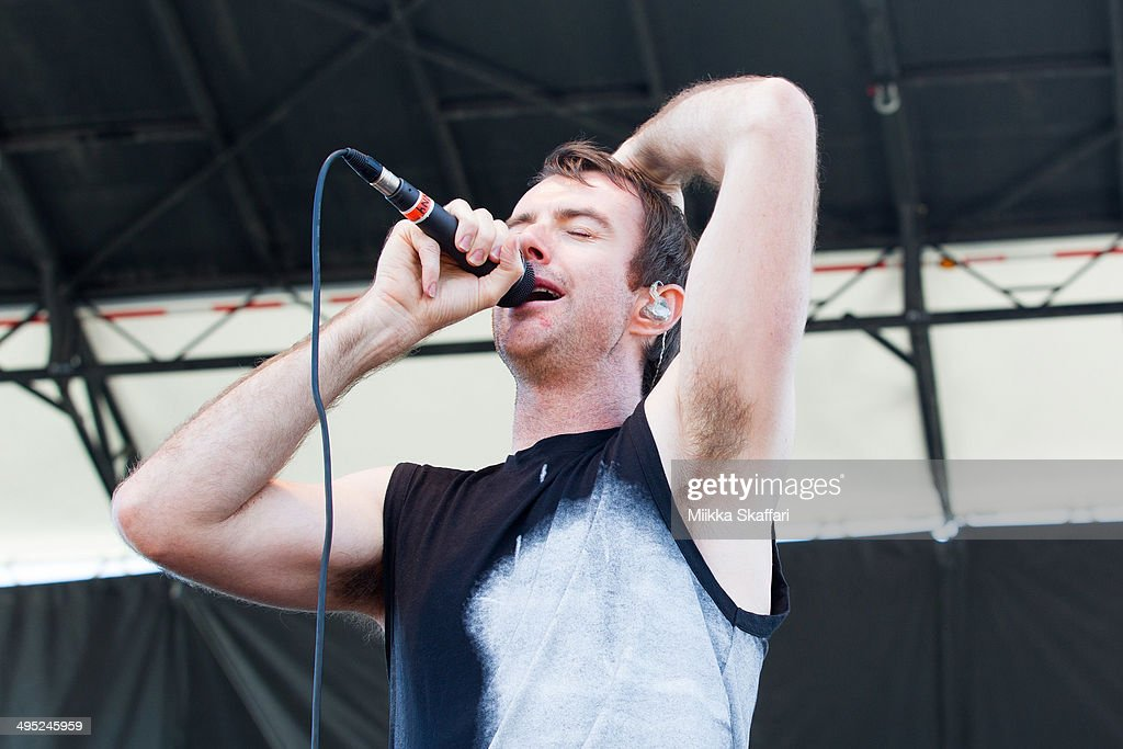 Vocalist Ian Kenny of Birds of Tokyo performs at Live 105 BFD on June 1, 2014 in Mountain View, California.
