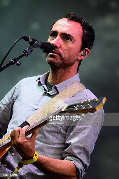 Vocalist James Mercer of The Shins performs during the 2012 Bonnaroo Music and Arts Festival on June 10 2012 in Manchester Tennessee