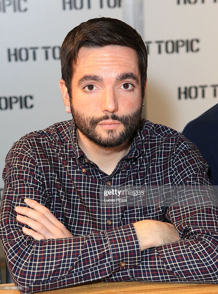 A day to remember meet and greet with fans photos and images getty vocalist jeremy mckinnon of a day to remember poses during a fan meet and greet at m4hsunfo