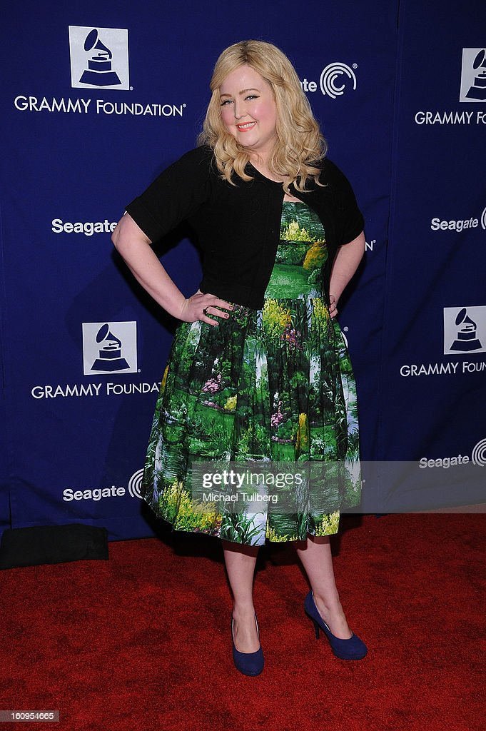 Vocalist Katrina Parker attends the 15th Annual GRAMMY Foundation Music Preservation Project's 'Play It Forward: A Celebration Of Music's Evolution And Influencers' at Saban Theatre on February 7, 2013 in Beverly Hills, California.