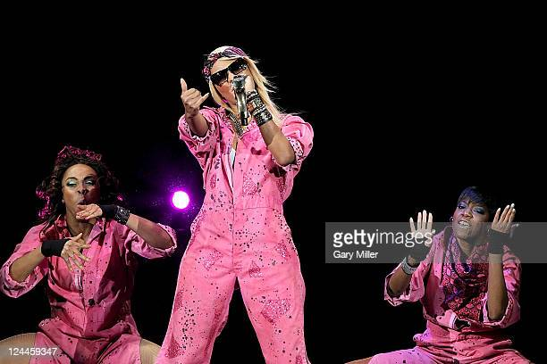 Vocalist Keri Hilson performs in concert at the AT&T Center on September 9, 2011 in San Antonio, Texas.