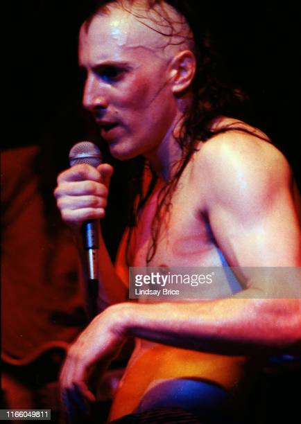 Vocalist Maynard James Keenan performs in Tool at Club Lingerie in Hollywood on June 2 1992 in Los Angeles