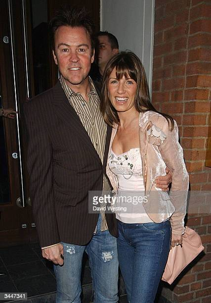 Vocalist Paul Young and his wife Stacey attend Linda Robsons's fundraising party at The Living Room April 19 2004 in London 'Blue' and 'So Solid'...