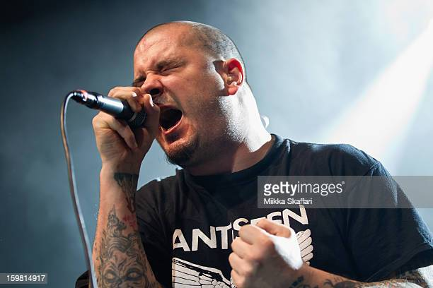 Vocalist Phil Anselmo of Down at Regency Ballroom on January 20 2013 in San Francisco California