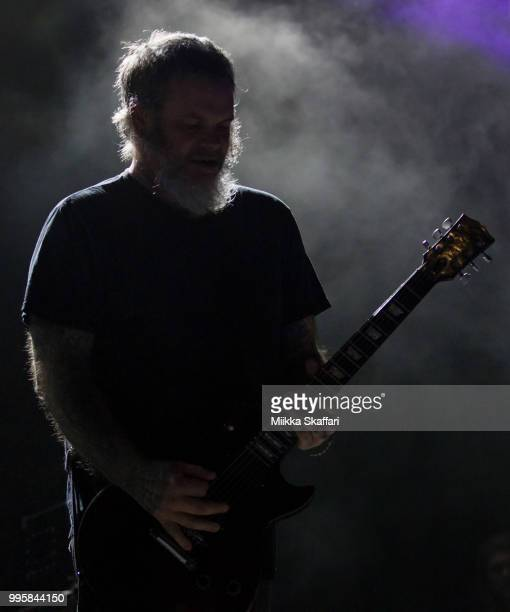 Vocalist Scott Kelly of Neurosis performs at UC Theatre on July 10 2018 in Berkeley California