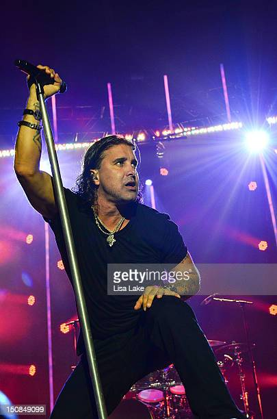 scott stapp creed stock photos and pictures getty images. Black Bedroom Furniture Sets. Home Design Ideas