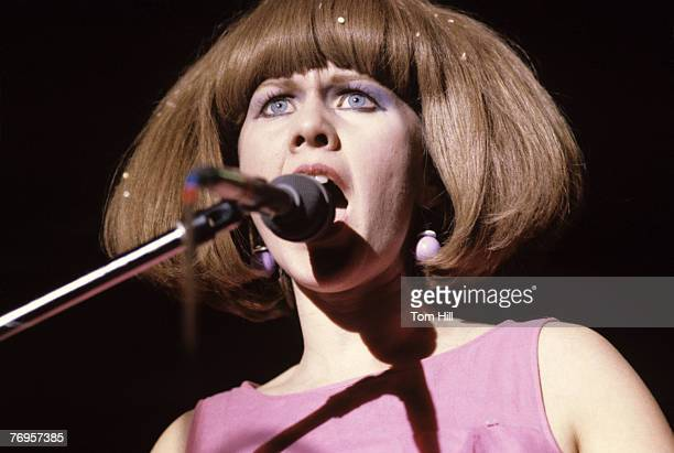 Vocalist-keyboardist Kate Pierson of The B-52s performs at the Agora Ballroom on January 19, 1979 in Atlanta, Georgia, United States.